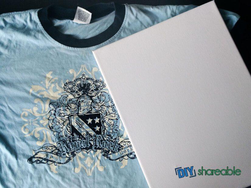 Decide orientation on your t-shirt displays again, either portrait or landscape