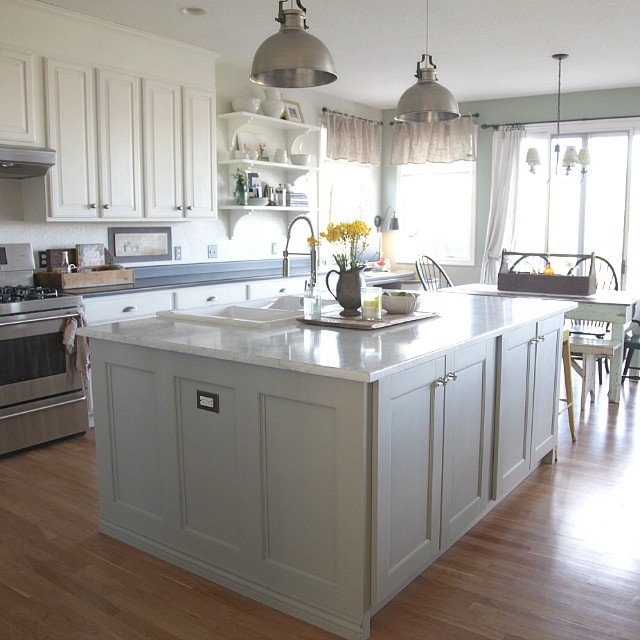 what's the best way to do chalk paint kitchen cabinets