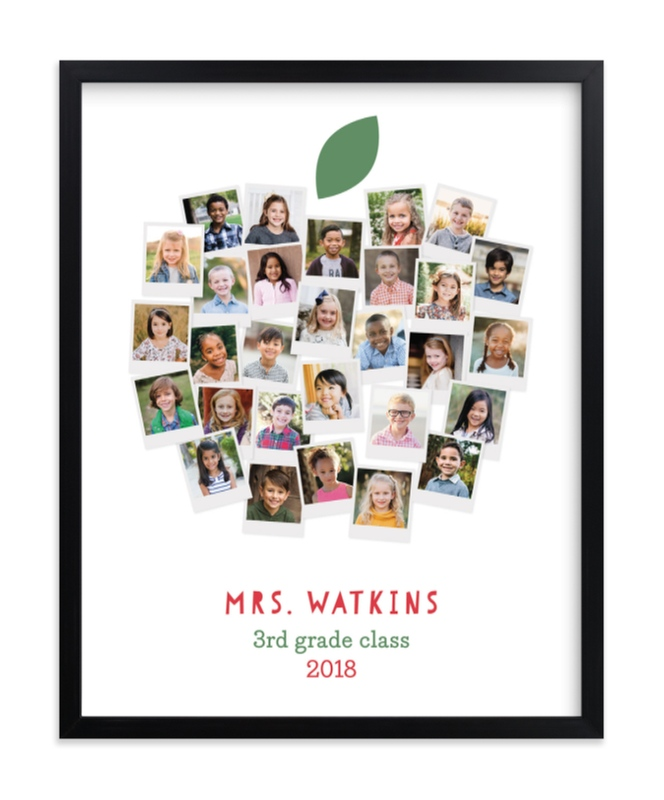 Great gift for teacher kids pictures that shape into and apple