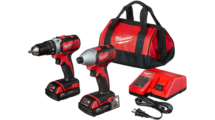 Milwaukee 18-Volt Compact Drill and Impact Driver Combo Kit