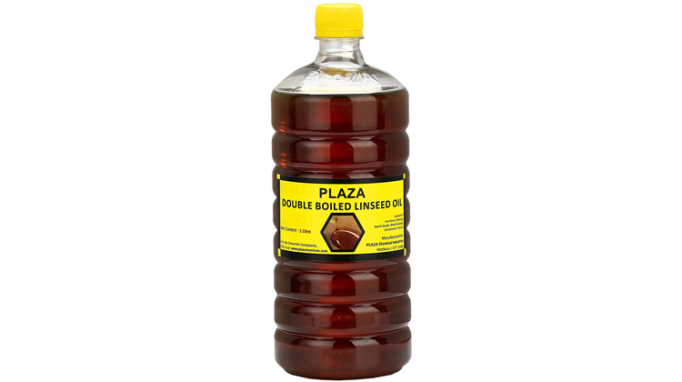 Plaza Double Boiled 1 Litre Linseed Oil