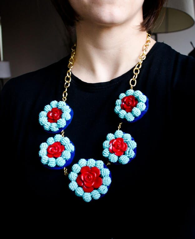 Banana Republic Inspired Statement Necklace