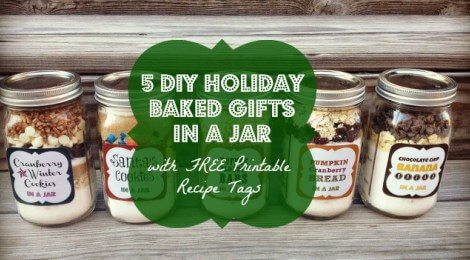 cookie mixes in a jar that kids can make