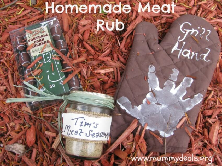 spice rub children can make as gifts