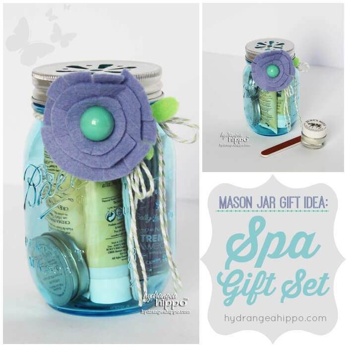 spa gift in a jar for children to make