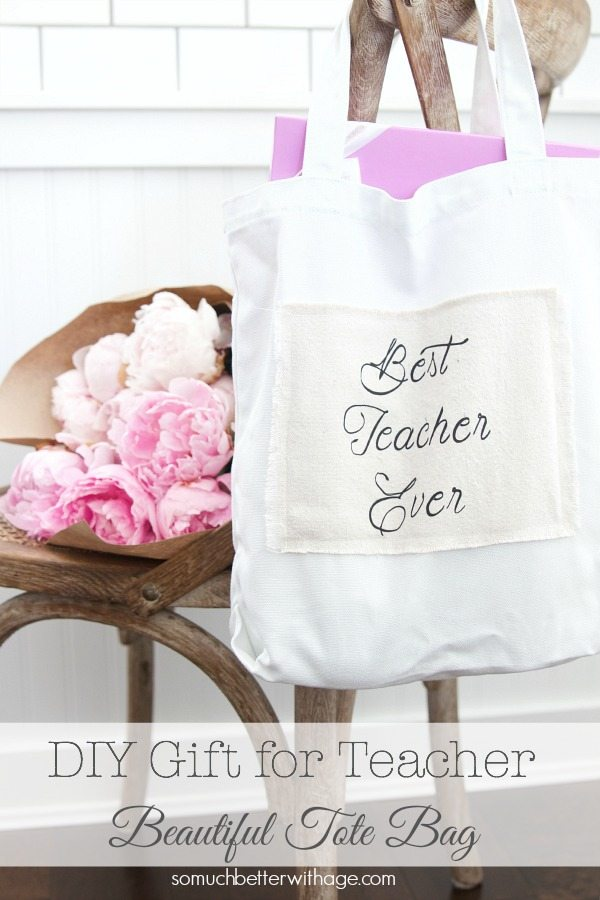 teacher tote bag as a gift