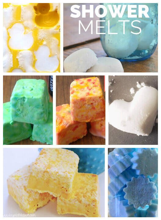 Customize these shower steamers with your favorite colors and your favorite scents.
