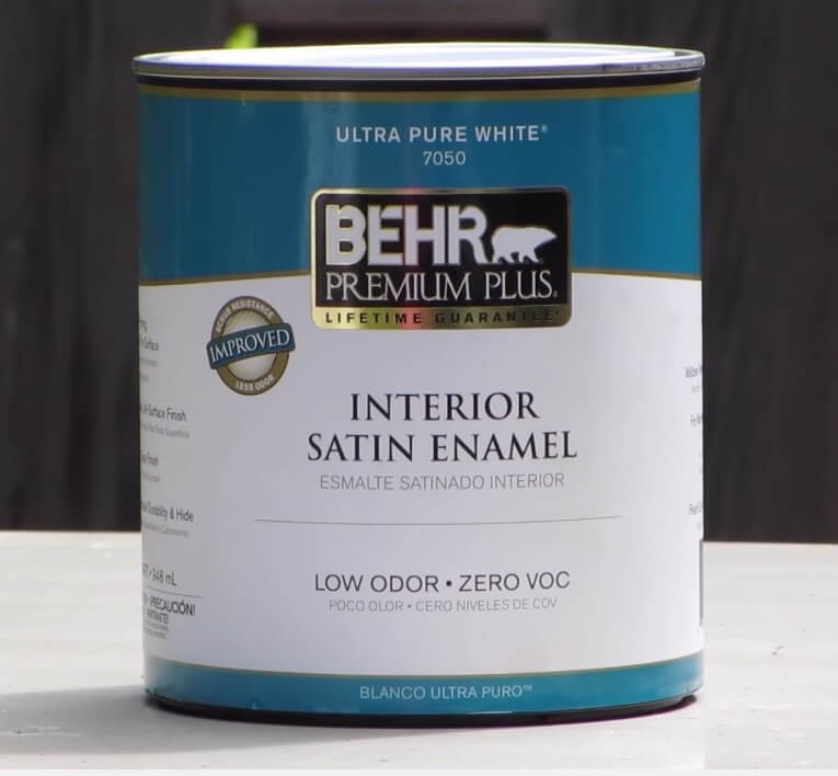 bedroom vanity interior satin enamel behr premium plus paint