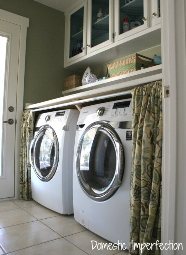 curtains for hiding washer and dryer