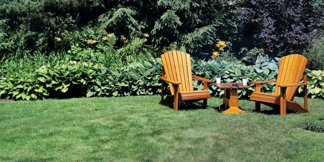 how to make Adirondack chairs and tables
