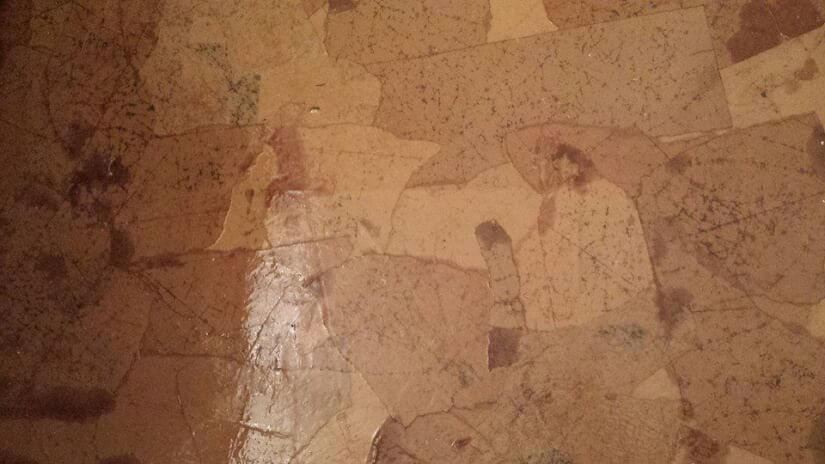 applying multiple layers of polyurethane for brown paper bag floors
